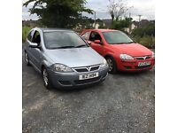 Few corsa forsale but not ready to go take small trade in