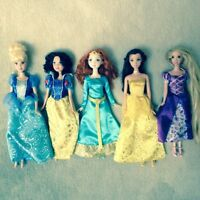 Disney princess doll set