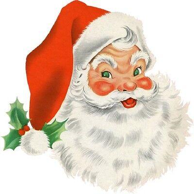 30 Custom Christmas Santa Claus Personalized Address Labels