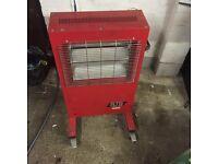 Elite heat workshop heater