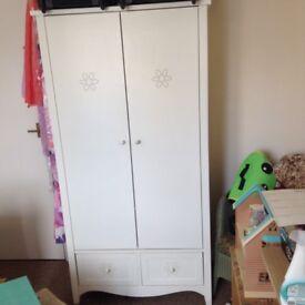 Next Wardrobe, Bedside Table, Bookshelt