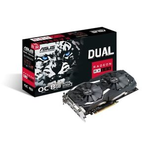 Asus RX 580 - 8G - Dual OC- New Sealed