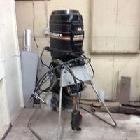 90 hp Mercury outboard motor