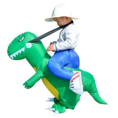 Aufblasbar Blowup Reiten Dinosaurier Kostüm Ganzanzug Outfit - Aufblasbare Reiten Dinosaurier Kostüm