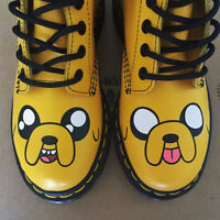 Dr. Martens x Adventure Time Jake boots / brand new