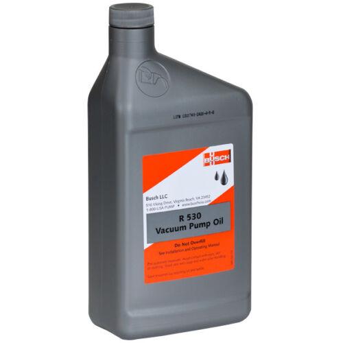 BUSCH R 530 VACUUM PUMP OIL 1 QUART VACUUMS PUMPS