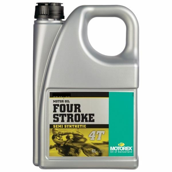 Motorex 4T 15w/50 4LT Four Stroke Semi Synthetic Oil