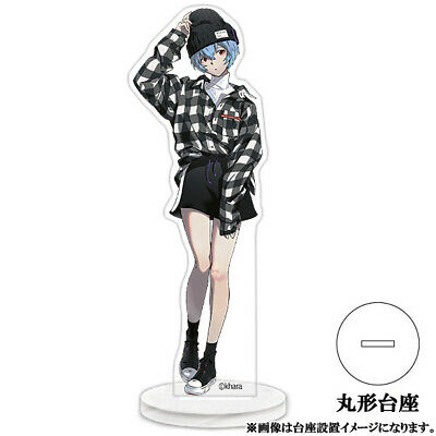 Radio Eva Fashion Evangelion Store Rei Ayanami Limited Character Acrylic Stand