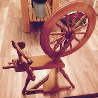 Ash ford spinning wheel