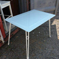 Glass Outdoor Patio Table