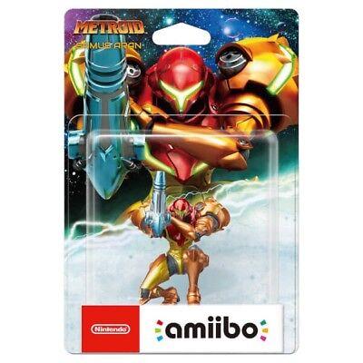 Metroid Collection Samus Aran amiibo Nintendo Switch 3DS Metroid Samus Returns