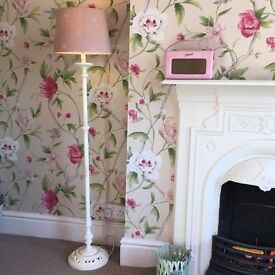 Laura Ashley standard lamp & shade