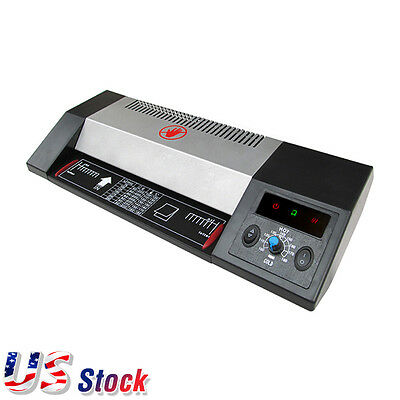 Usa Steel Thermal Laminator A3 A4 Hot Cold 13 Pouch Photo Laminating Machine