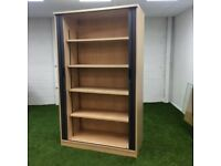 Tambour Door Cupboard in Maple 2000 x 1200mm 16 available
