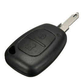Renault Trafic Vauhall Vivaro spare replacement 2 button key cut and programmed programming