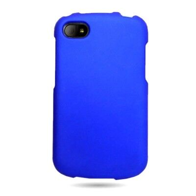 Blackberry Q10 Case Matte Blue Faceplate Hard Phone Cover Verizon AT&T   Sprint for sale  Shipping to India