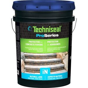 30.24L of TECHNI-SEAL iN PROTECTIVE SEALANT FOR PAVERS AND SLABS