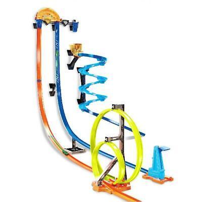 Hot Wheels Track Builder Vertical Launch Kit 3 Configurations Plat Set Trackset