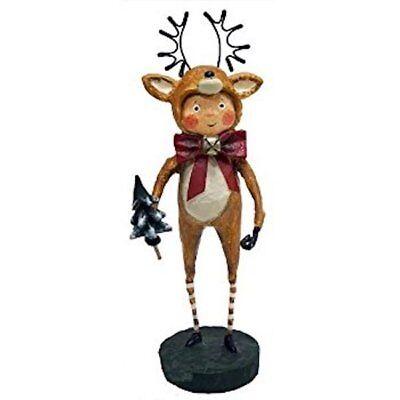 Little Dasher Reindeer Christmas Lori Mitchell Collectible Figurine