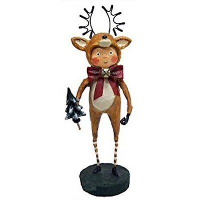 Little Dasher Reindeer Christmas Lori Mitchell Collectible Figurine