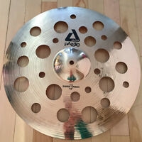"PAISTE ALPHA SWISS THIN CRASH 18"" COMME NEUVE/LIKE NEW"