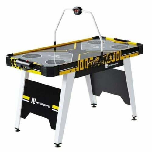 MD Sports 54″ Air Powered Hockey with Overhead Electronic Scorer, Brand New