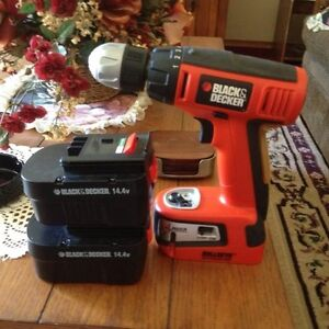Black & Decker Compact Drill with laser