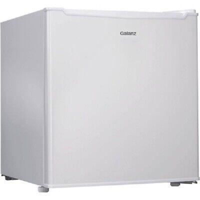 Galanz Single Door 1.7 cu ft Compact Dorm Office Refrigerator Freezer White New!