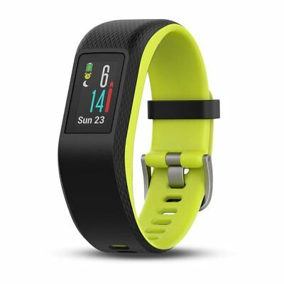Garmin Vivosport Limelight Green Large Fitness Tracker with GPS and Built-In HRM