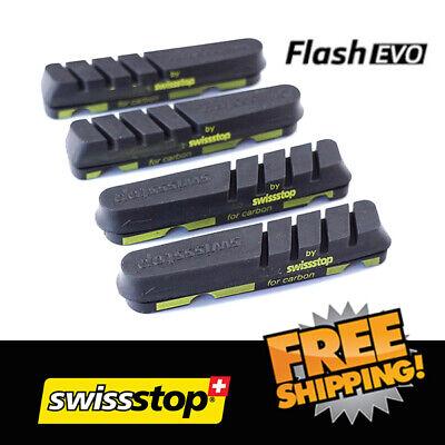 SwissStop Flash Pro Black Prince Brake Pads Shimano Sram for carbon rim 2 4pcs