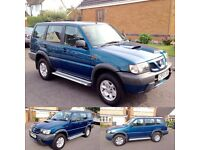 2004 NISSAN TERRANO 2.7 SR DIESEL, LOW MILES. (Land Rover discovery)