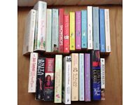 23 Mixed books - Julia Quinn, Helen Fielding, Fern Britton...