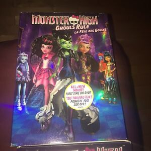 MONSTER HIGH Movies - 3 movies for $6.00 Gatineau Ottawa / Gatineau Area image 5
