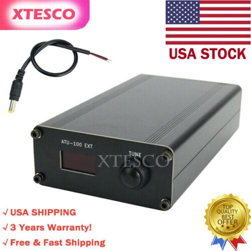 ATU-100 EXT 1.8-50M 100W Open Source Shortwave Automatic Antenna Tuner #USA SHIP