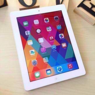 Pre owned iPad 3 white 16G wifi and cellular with charger Calamvale Brisbane South West Preview