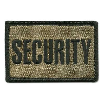 VELCRO® BRAND Hook Fastener Compatible Patch Security Coyote 3x2