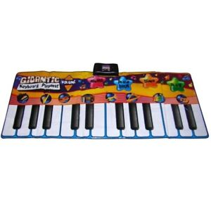 Giant piano playmat
