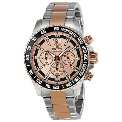 Invicta Signature II Chronograph Two-Tone Stainless Steel Watch is now in huge markdown is now in $68.99 (reg. $795.00)