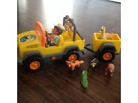 Diego Jeep and Trailer