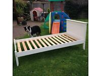 Single wooden bed £30