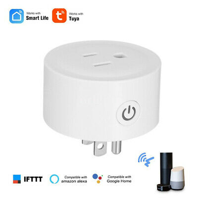 Wifi Smart Plug Remote Control US Socket Outlet Support Alexa Echo / Google Home