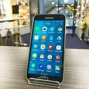 Galaxy S5 Black 16G AU MODEL INVOICE UNLOCKED GOOD CONDITION Carrara Gold Coast City Preview