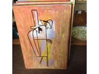 Art abstract art paintings 1980s/1990s £100ono each