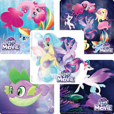 25 My Little Pony The Movie Stickers Party Favors Teacher Supply Rainbow Dash - Rainbow Dash Party Supplies