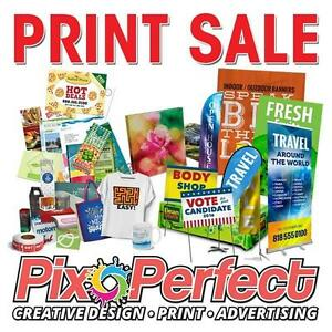 MEGA PRINT SALE! | Affordable High Quality Printing | Business Cards, Flyers, Banners, Signs and More | PixoPerfect.com