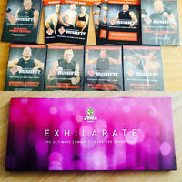 Exhilarate Zumba DVD's / George's Pierre Rush (work out dvds)