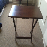 4 tables, collapsible end tables. Can buy 1-4
