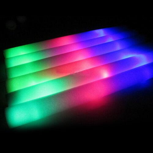 15/60/75 PCS Light-Up Foam Sticks Flashing LED ...
