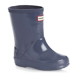 Hunter First Gloss Toddler Boots - Size 6