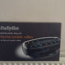 BaByliss thermo Ceramic Rollers £15